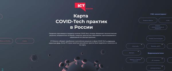 Мегапьютер на карте COVID-Tech