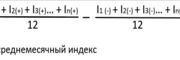 Рисунок 14 - Формула расчета индекса субъективного качества жизни